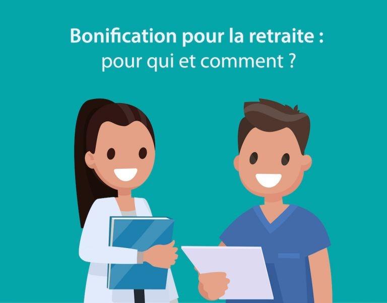 bonification pour retraite fonction publique hospitalière